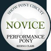 Novice Performance (Riding)